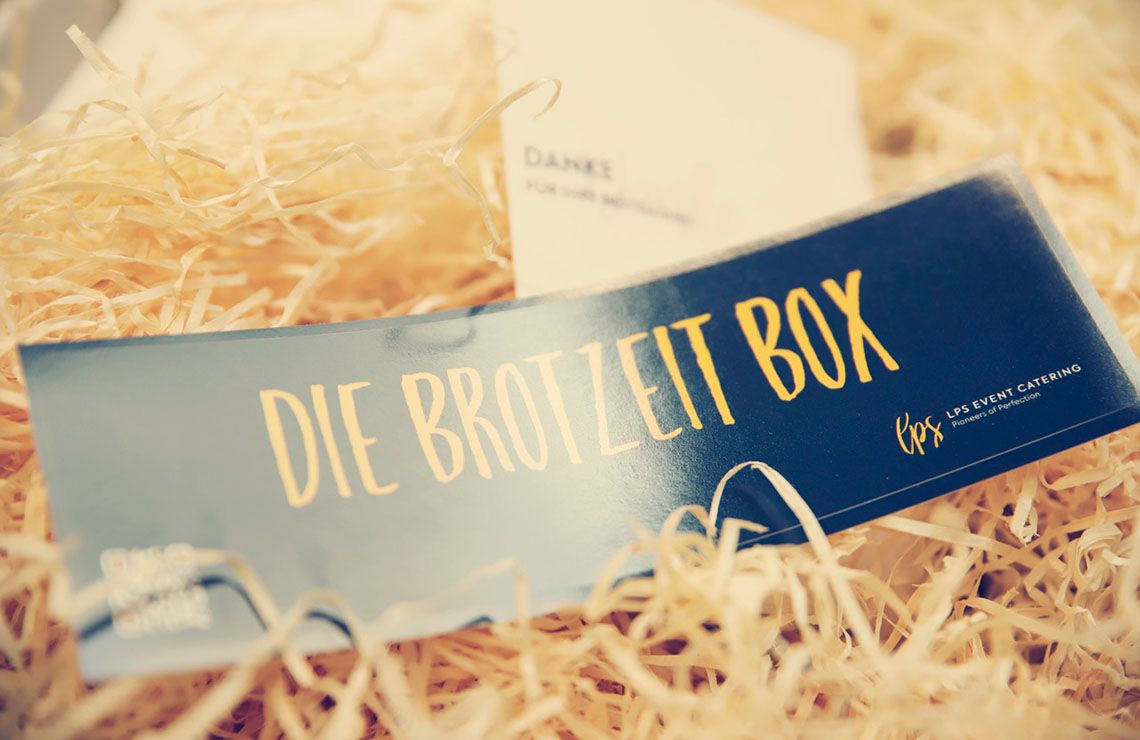 Etikett der Brotzeit-Box