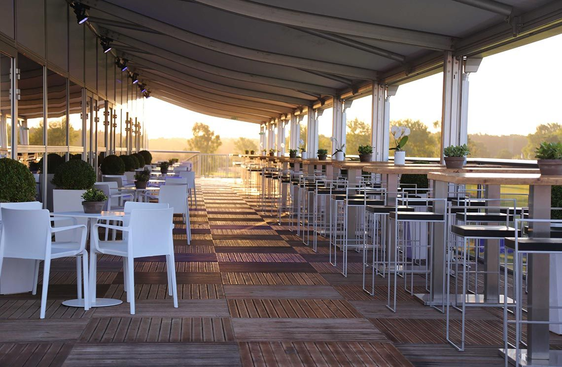 VIP Terrace Porsche European Open